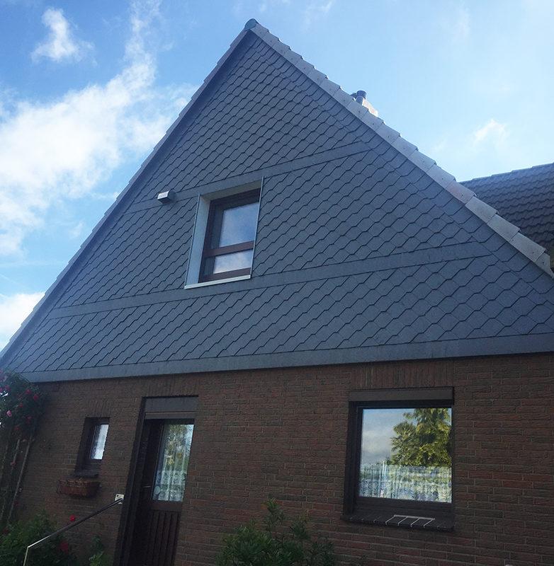 Fassadenbekleidungen vom Dachdecker Plaumann aus Kiel