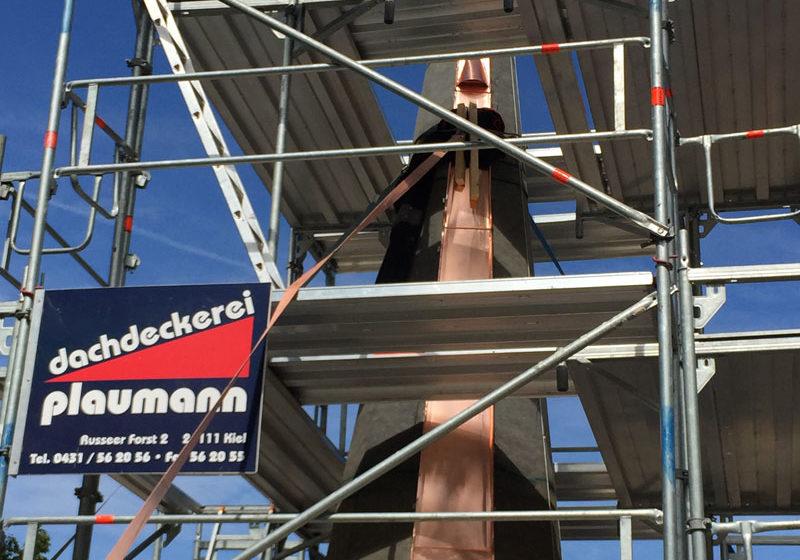 Gerüstbauarbeiten - Dachdeckerei Plaumann Kiel